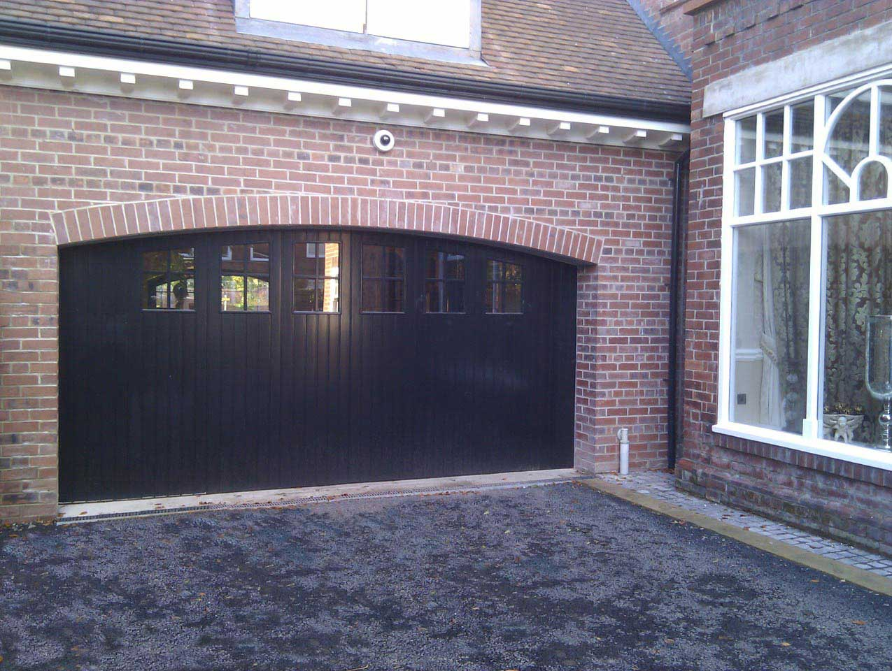Custom Garage Door - carriage