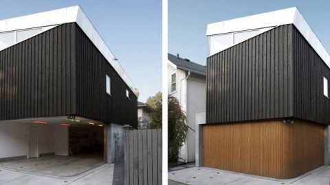 Cornerless Garage Doors Offer A Unique Design & Maximum Access