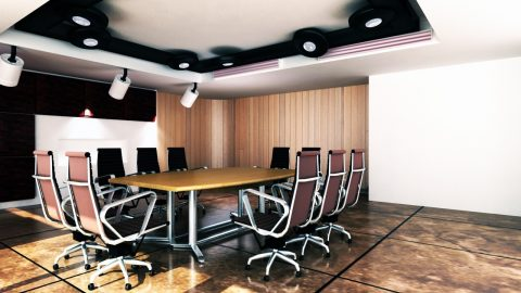 Side Sliding Walls Make The Perfect Conference Room Partition
