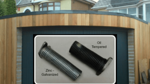 Learn more about 2 different types of garage door torsion springs