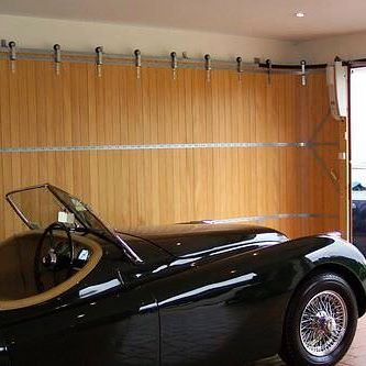 Replace Garage Door with Sliding Door